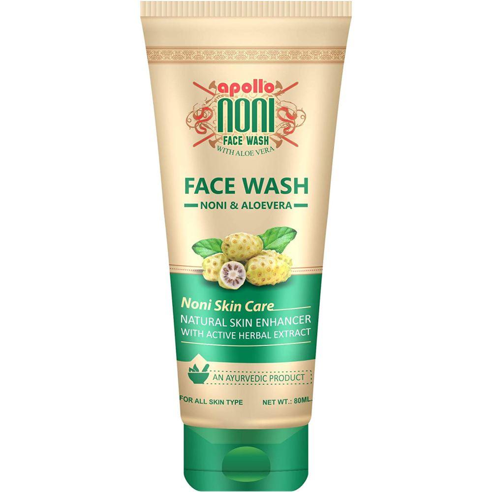 Apollo Noni Facewash with Aloevera (80ml)