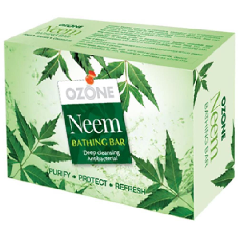 Ozone Neem Bathing Bar Soap (125g, Pack of 3)