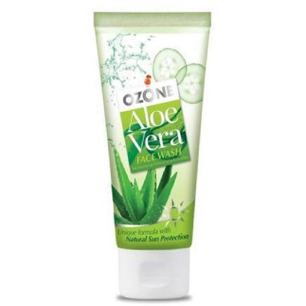 Ozone Aloe Vera Face Wash (50ml, Pack of 3)