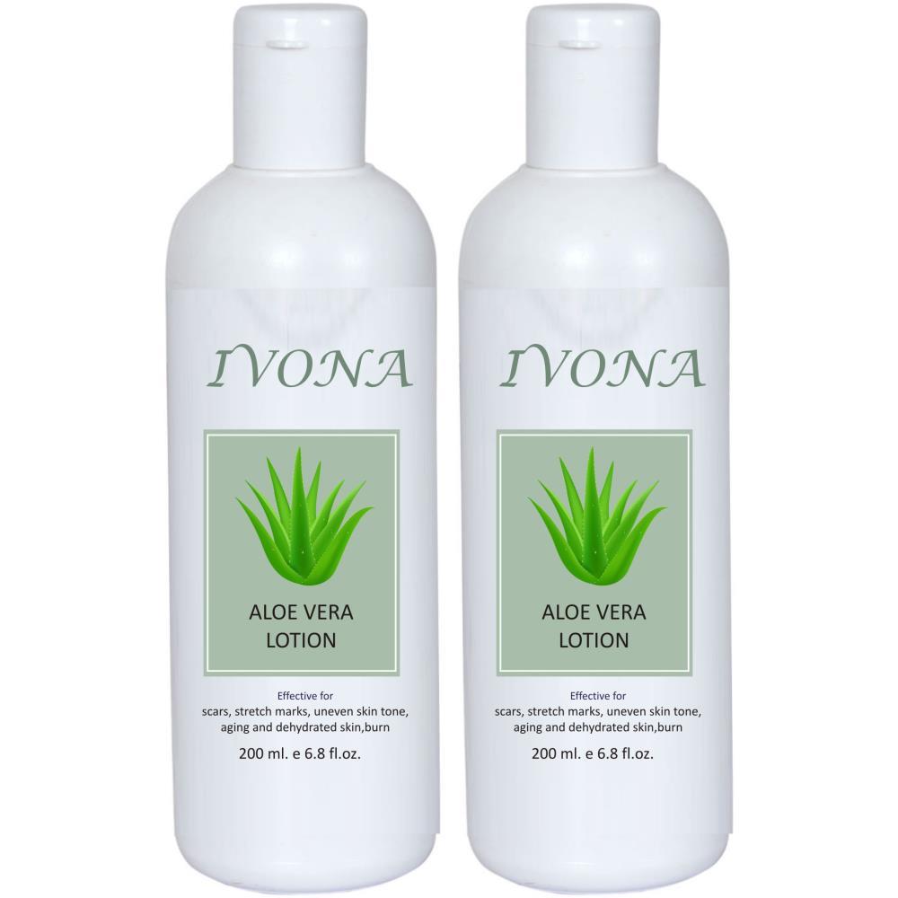 Ivona Aloe Vera Lotion (200ml, Pack of 2)