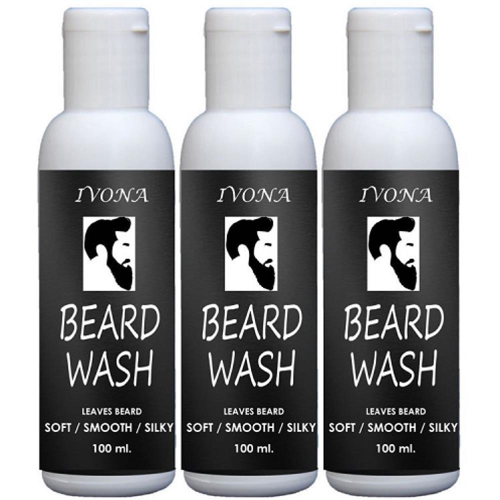 Ivona Beard Wash (100ml, Pack of 3)