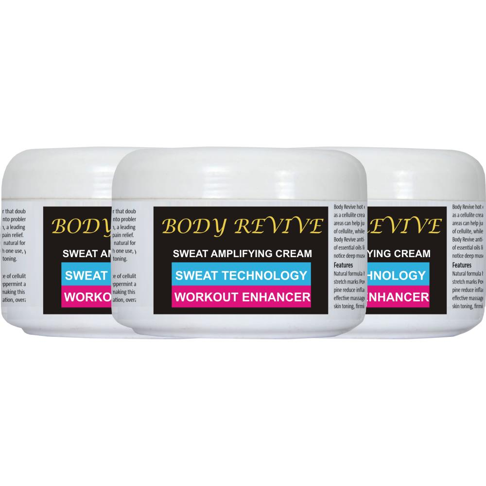 Body Revive Amplifying Cream (200ml, Pack of 3)