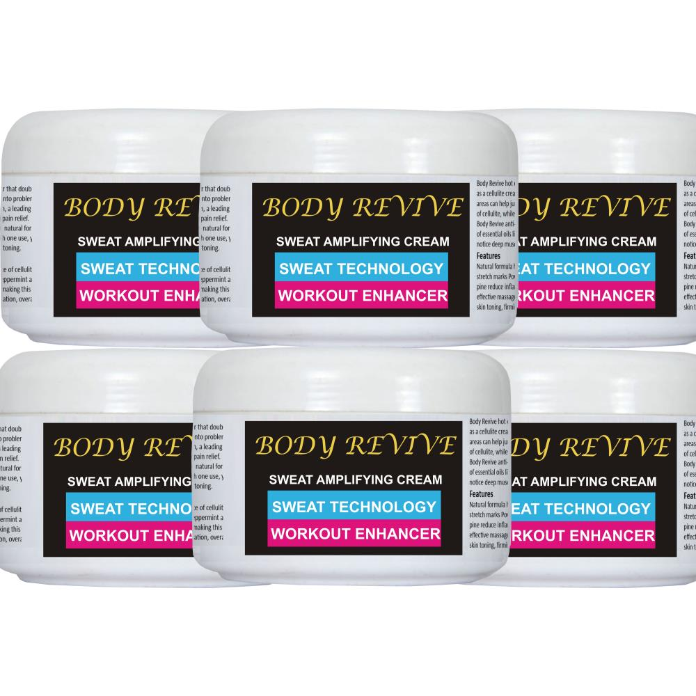 Body Revive Amplifying Cream (200ml, Pack of 6)