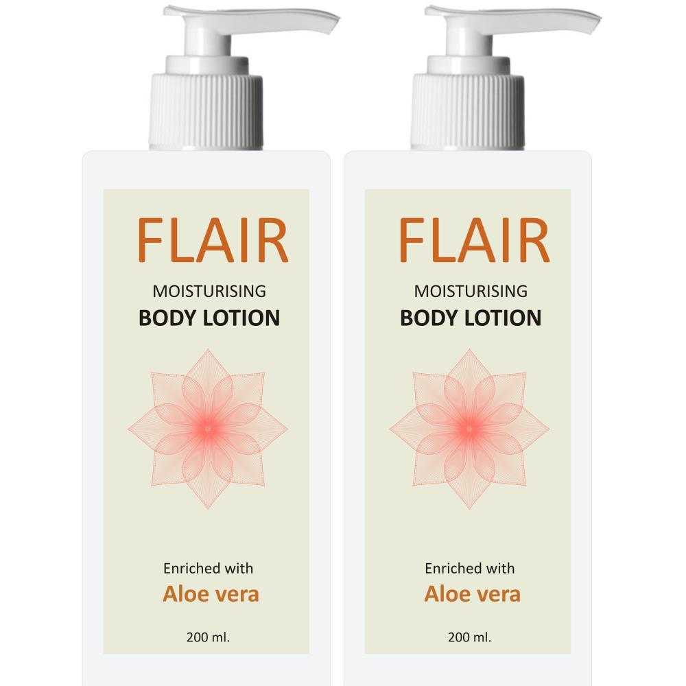 Flair Body Lotion (200ml, Pack of 2)