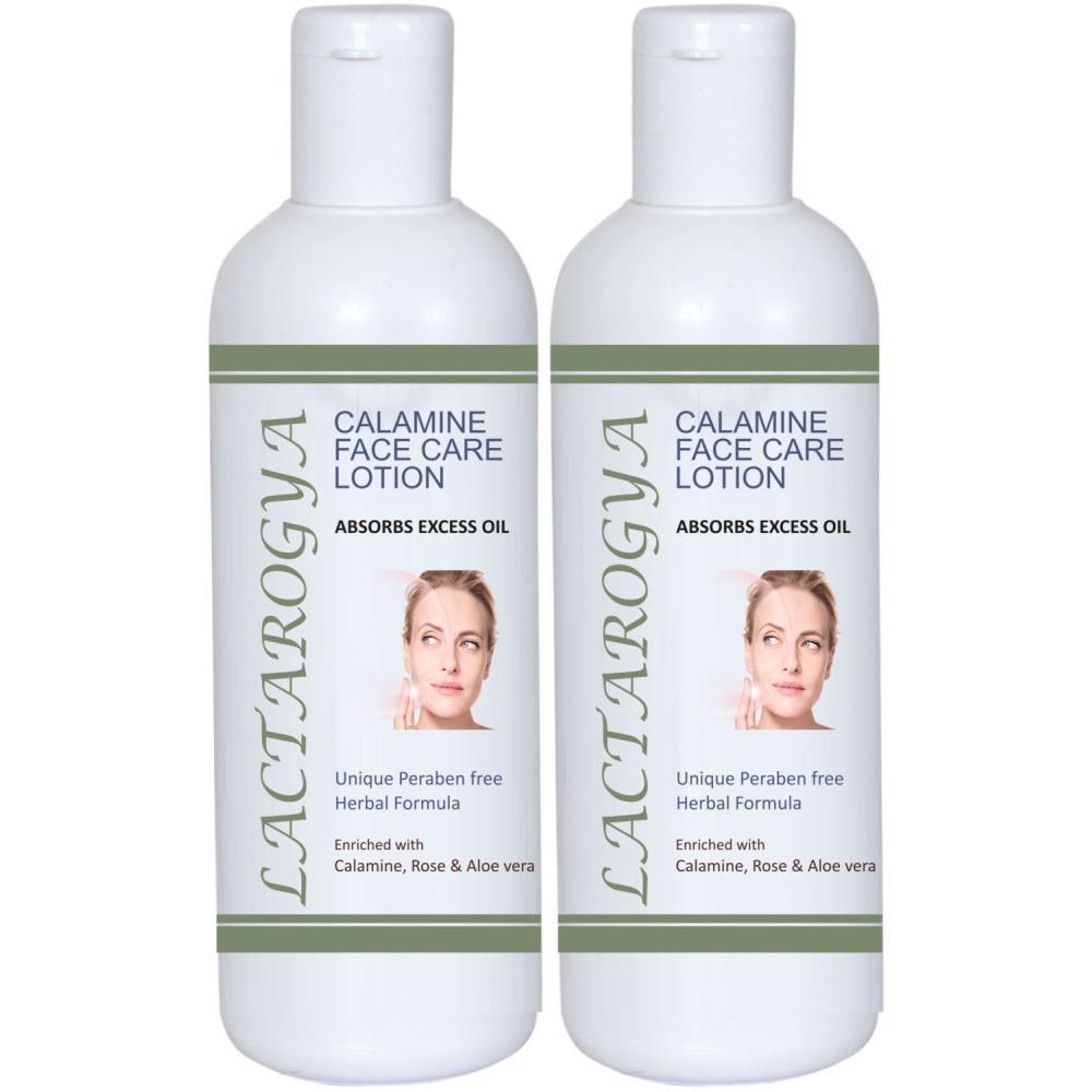 Lactarogya Calamine Face Care Lotion (200ml, Pack of 2)