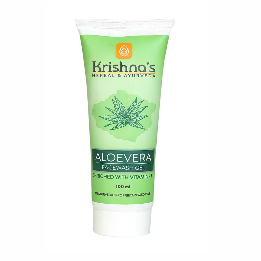 Krishna's Aloe Vera Face Wash (100ml)