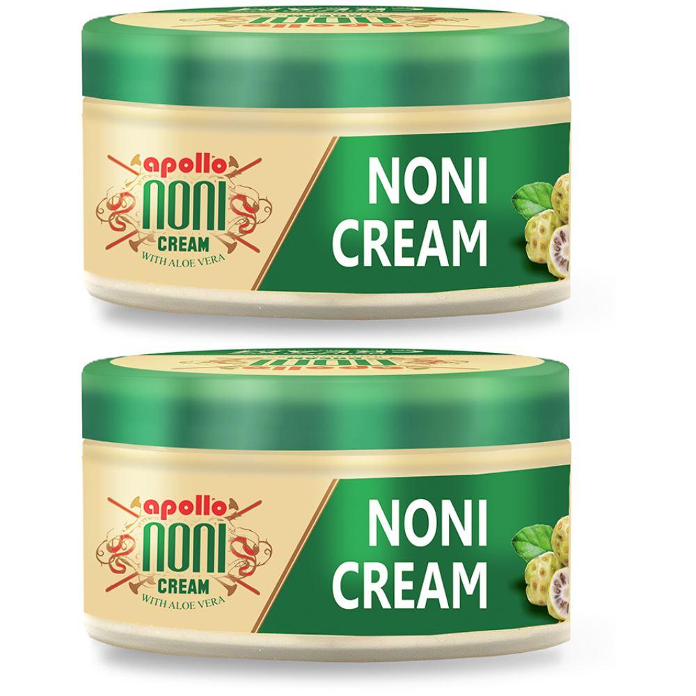 Apollo Noni Cream with Aloevera (100g, Pack of 2)