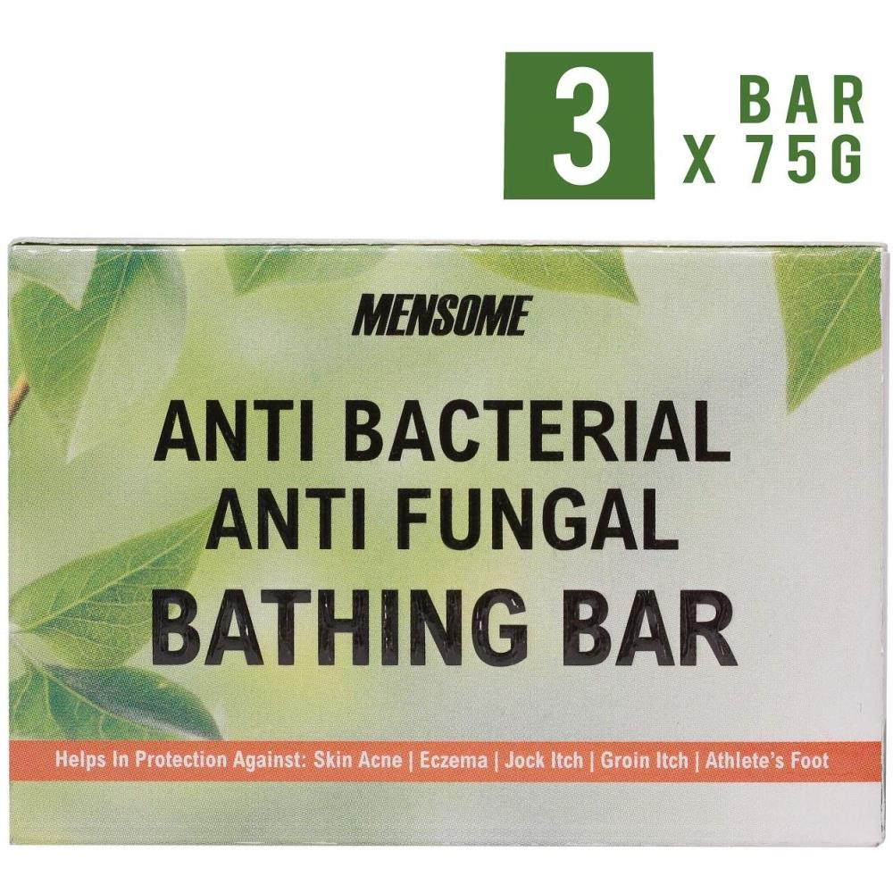Mensome Anti Bacterial And Anti Fungal Bathing Soap (75g, Pack of 3)