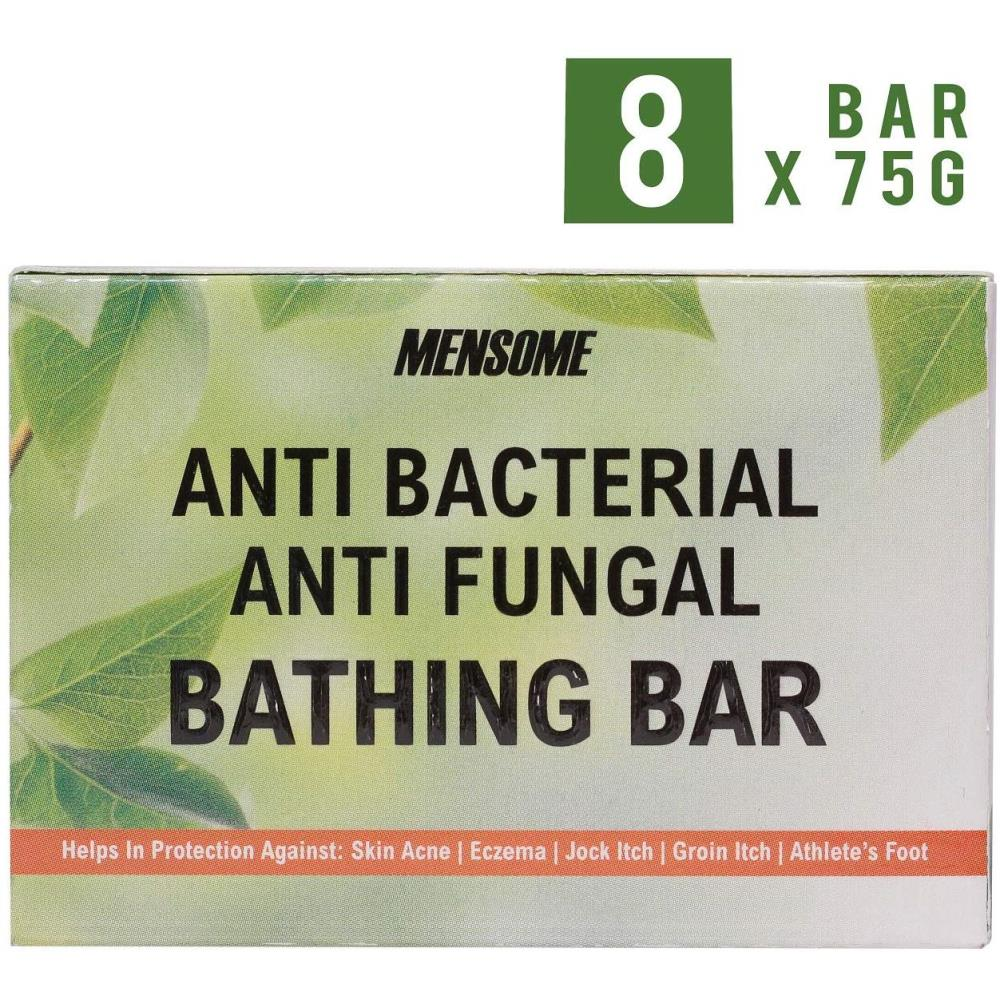 Mensome Anti Bacterial And Anti Fungal Bathing Soap (75g, Pack of 8)