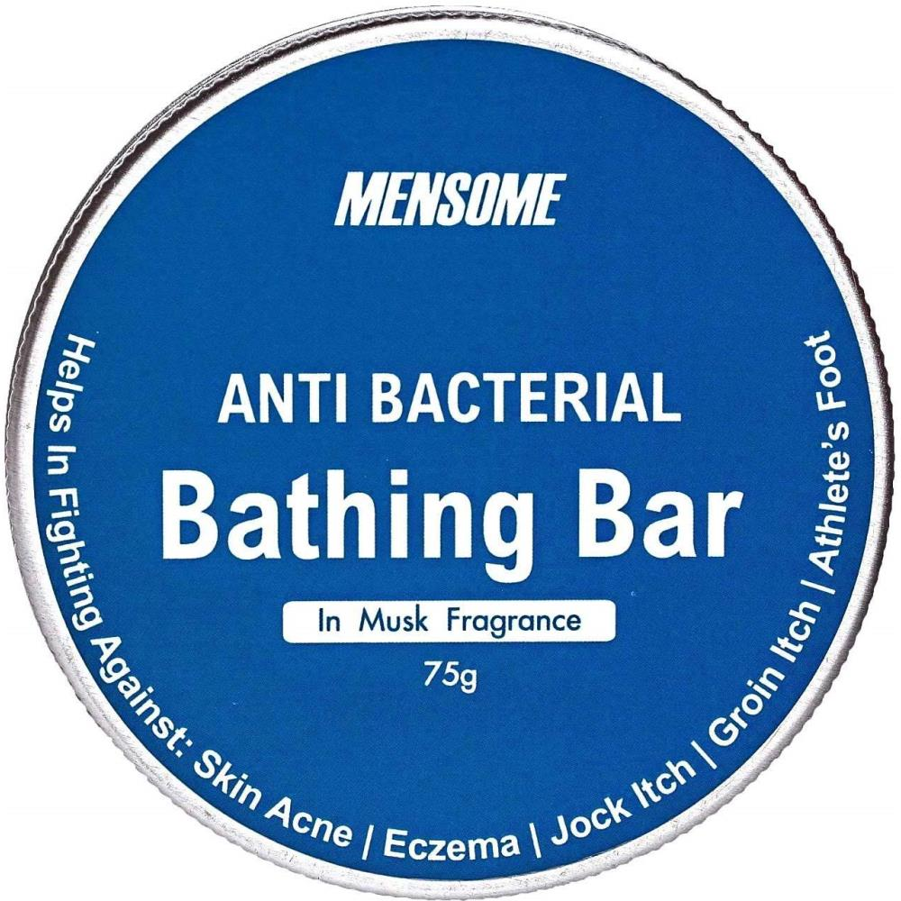 Mensome Anti Bacterial Bathing Soap In Musk Fragrance (75g, Pack of 3)