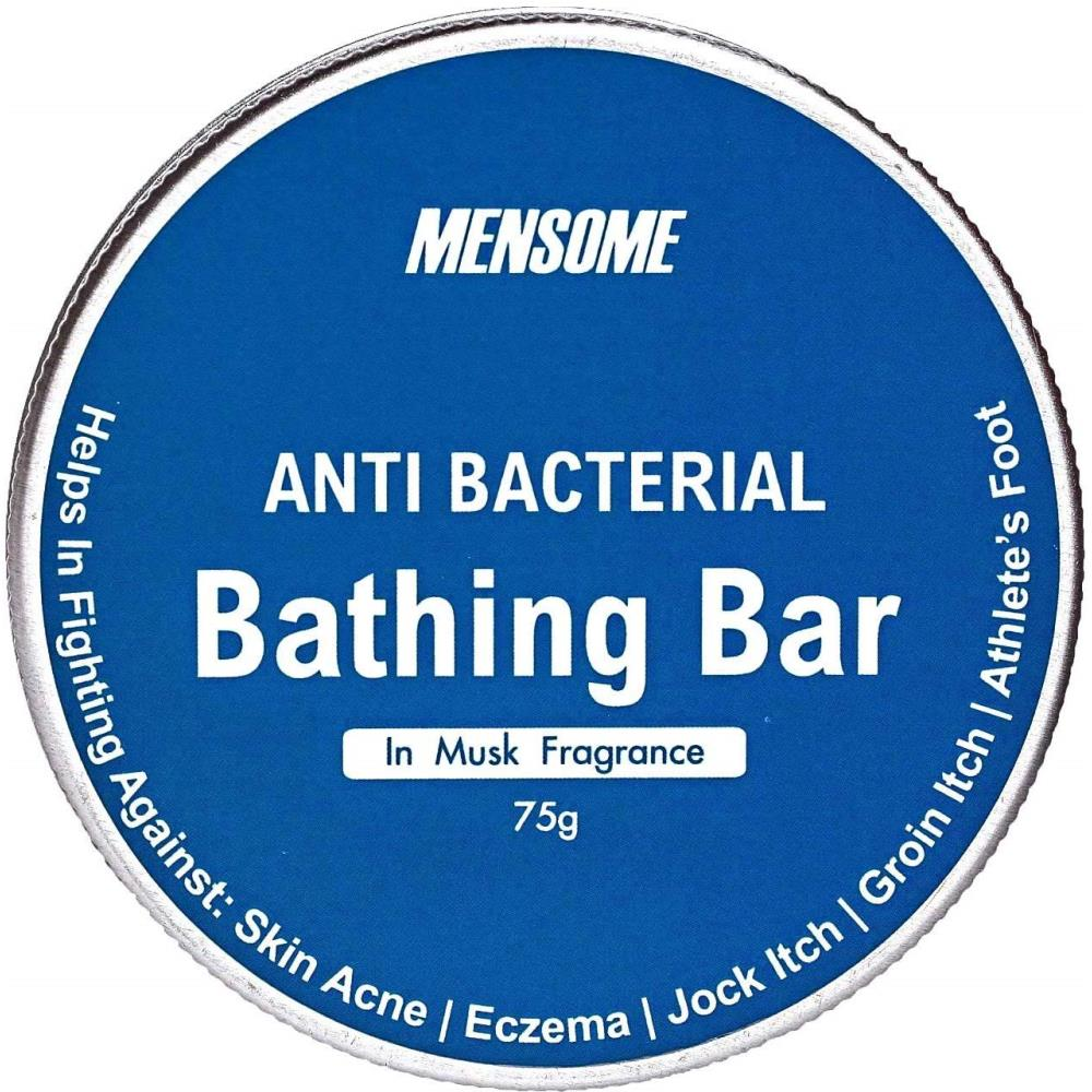 Mensome Anti Bacterial Bathing Soap In Musk Fragrance (75g, Pack of 5)