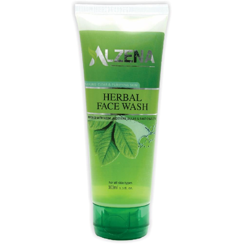 M A Herbal Alzena Herbal Face Wash (100ml, Pack of 2)