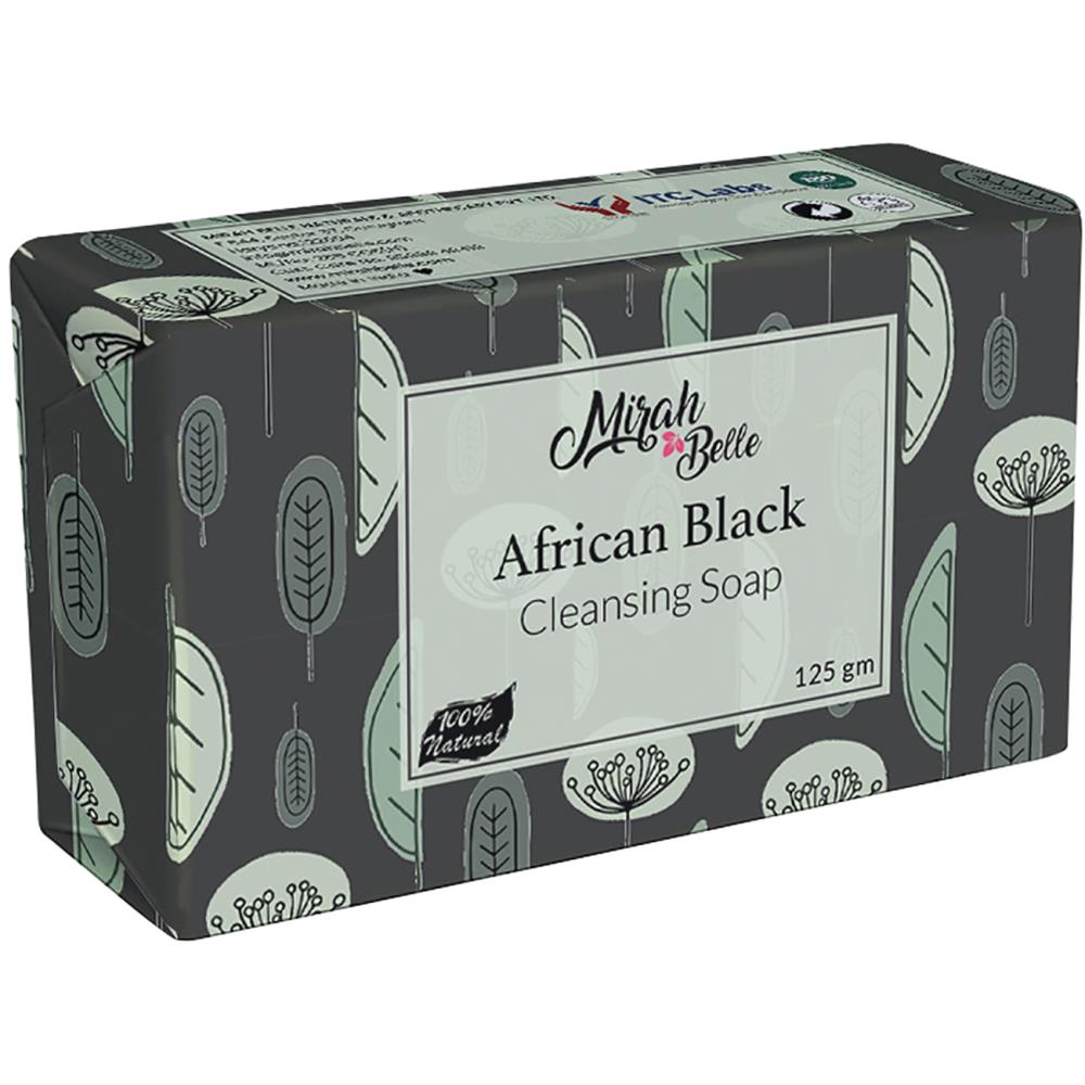 Mirah Belle African Black Cleansing Soap (125g)