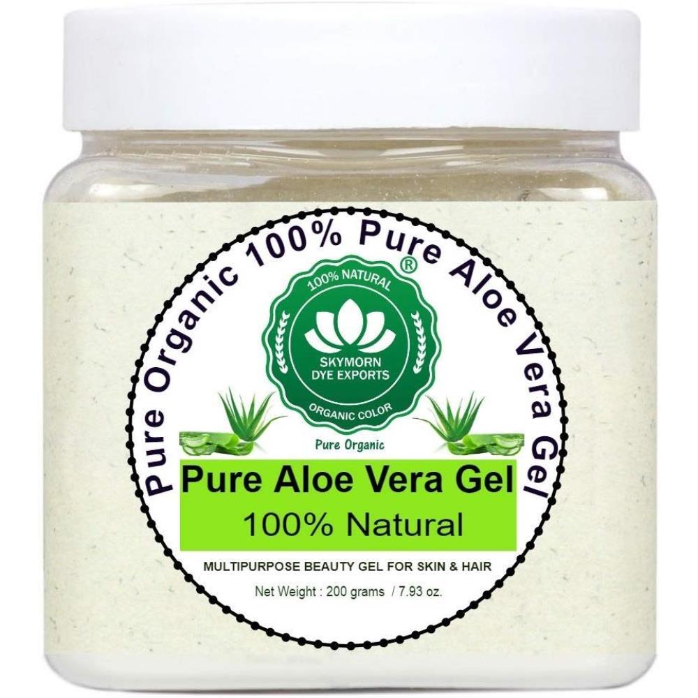 SkyMorn Pure Organic 100% Pure Aloe Vera Gel  (200g)