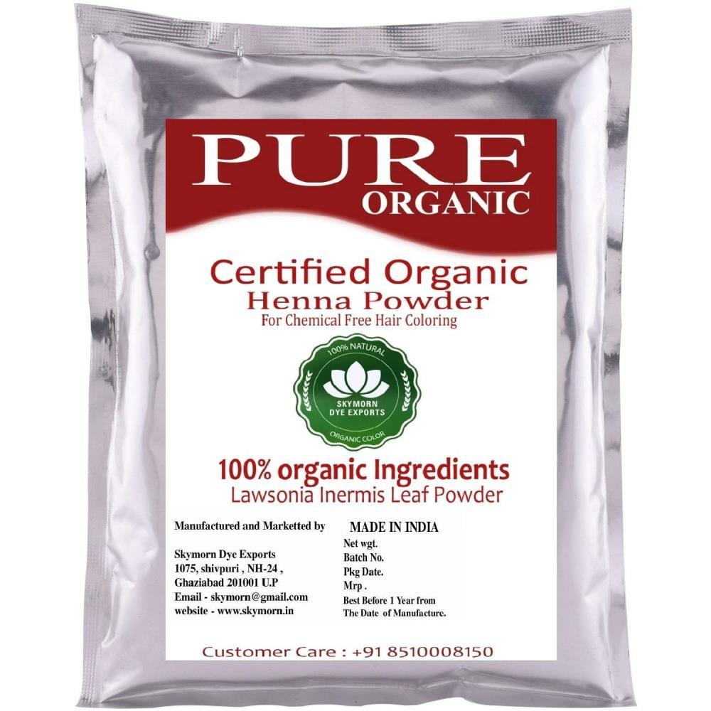 SkyMorn Natural Henna Leaf Powder Hair Color (100g)