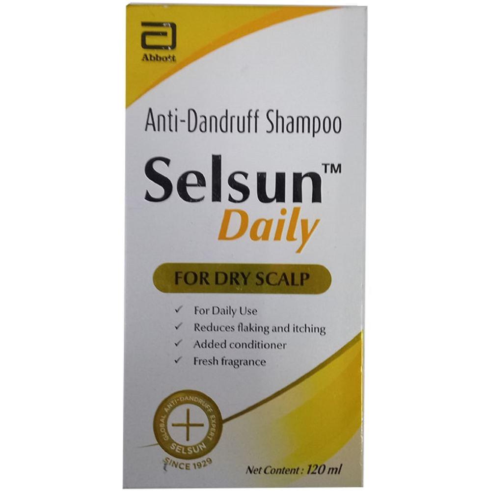 Abbott Selsun Daily Shampoo (120ml)