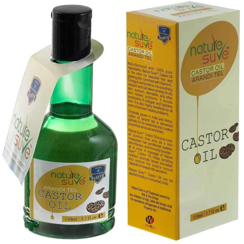 Nature Sure Castor Oil (110ml)