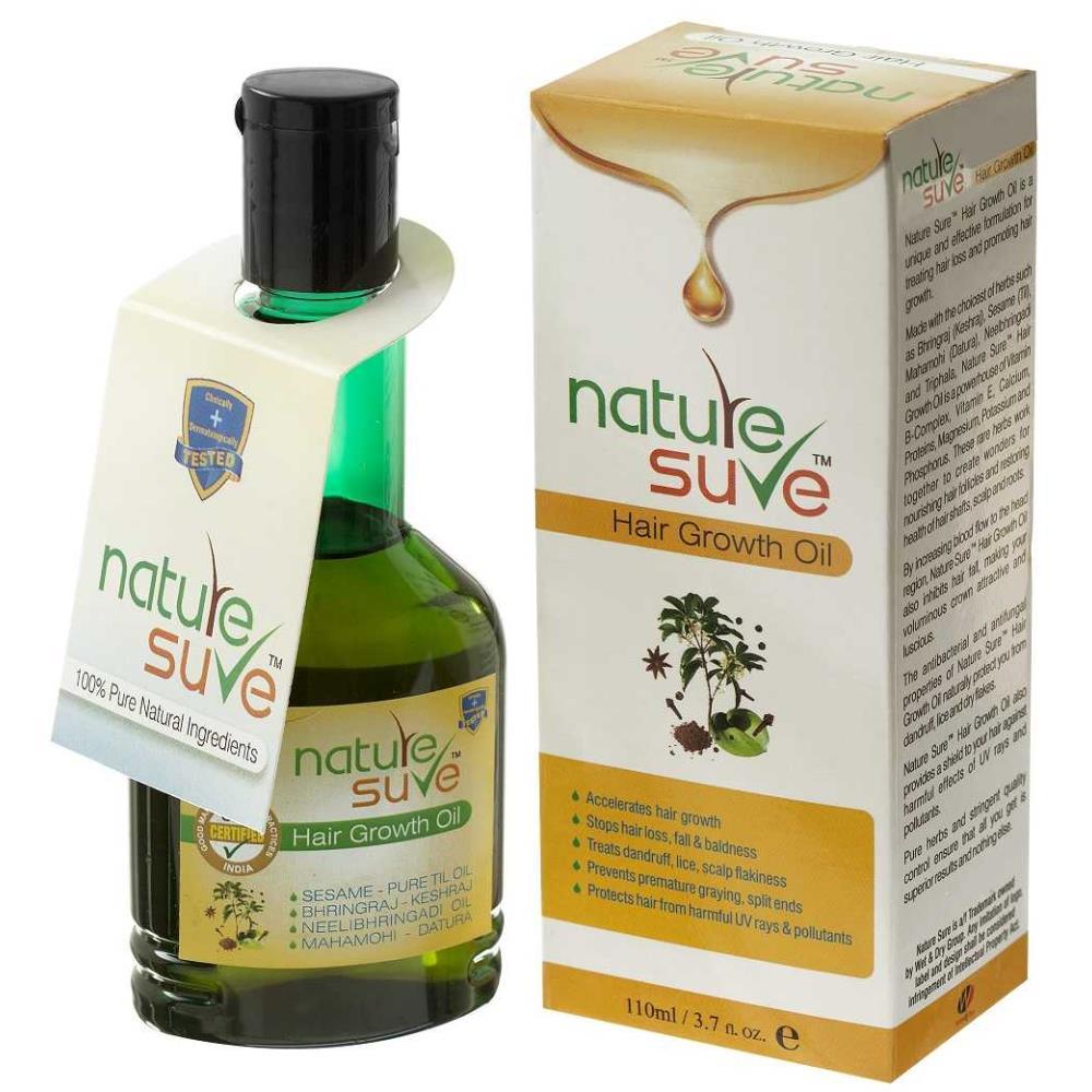 Nature Sure Hair Growth Oil (110ml)