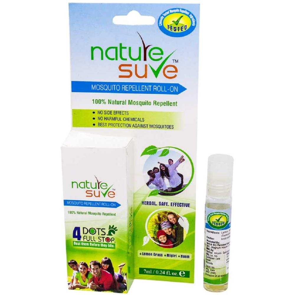 Nature Sure Herbal Mosquito Repellent Roll On (7ml, Pack of 2)