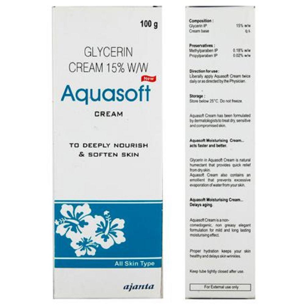 Ajanta Pharma Aquasoft Cream (100g)