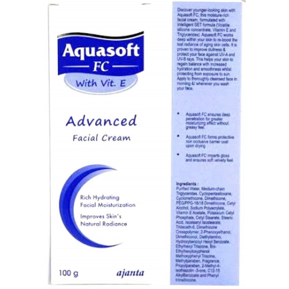 Ajanta Pharma Aquasoft FC Advanced Facial Cream (100g)