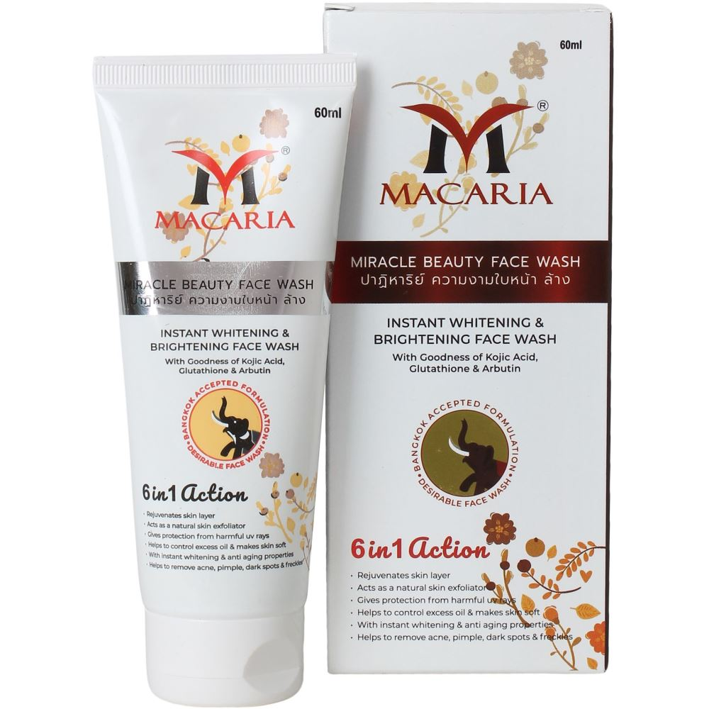 Macaria Instant Whitening Face Wash (60ml)