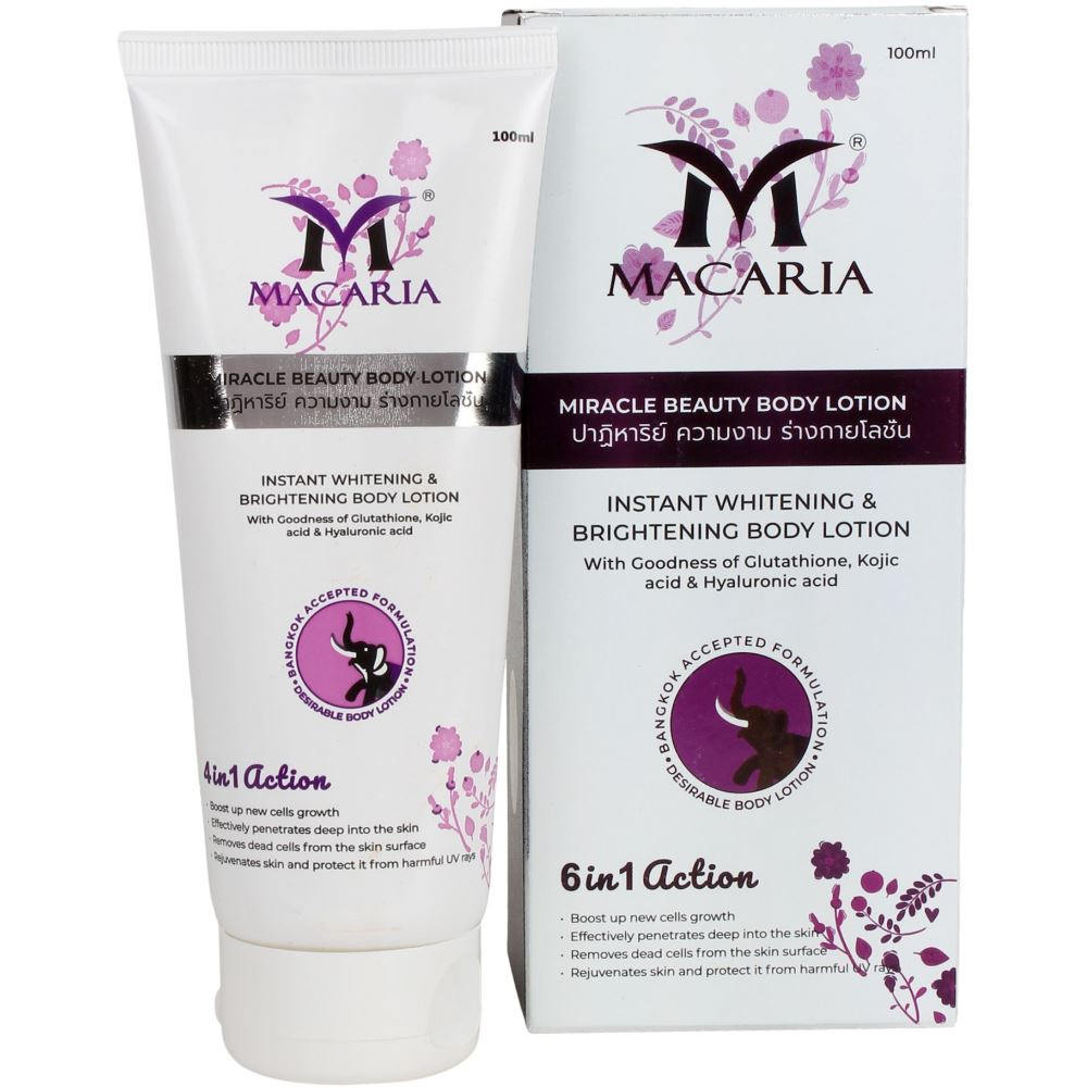 Macaria Glutathione Miracle Beauty Body Lotion (100ml)