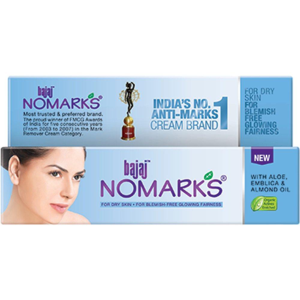 Bajaj No Marks Cream For Dry Skin (25g)