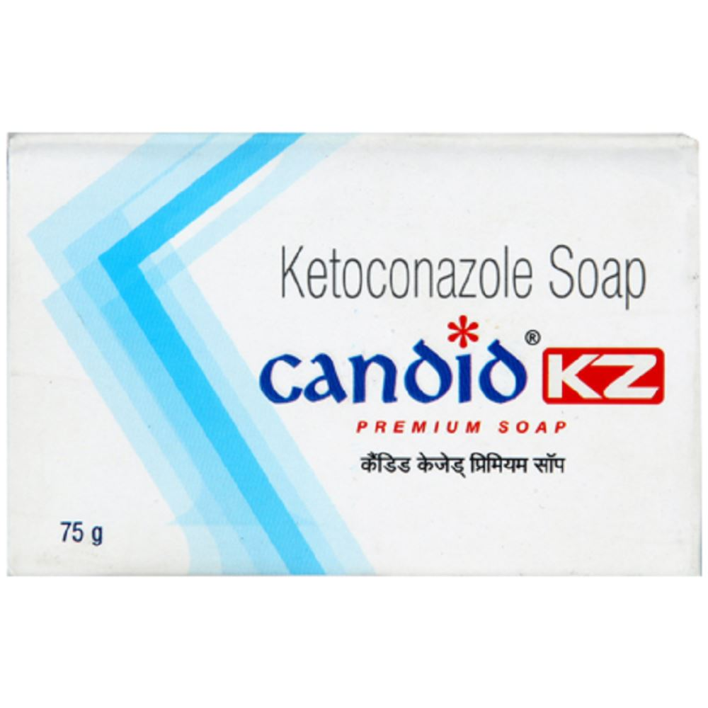 Glenmark Pharma Candid KZ Soap (75g)