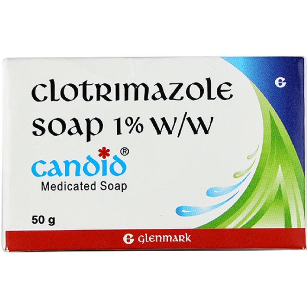 Glenmark Pharma Candid Medicated Soap (50g)