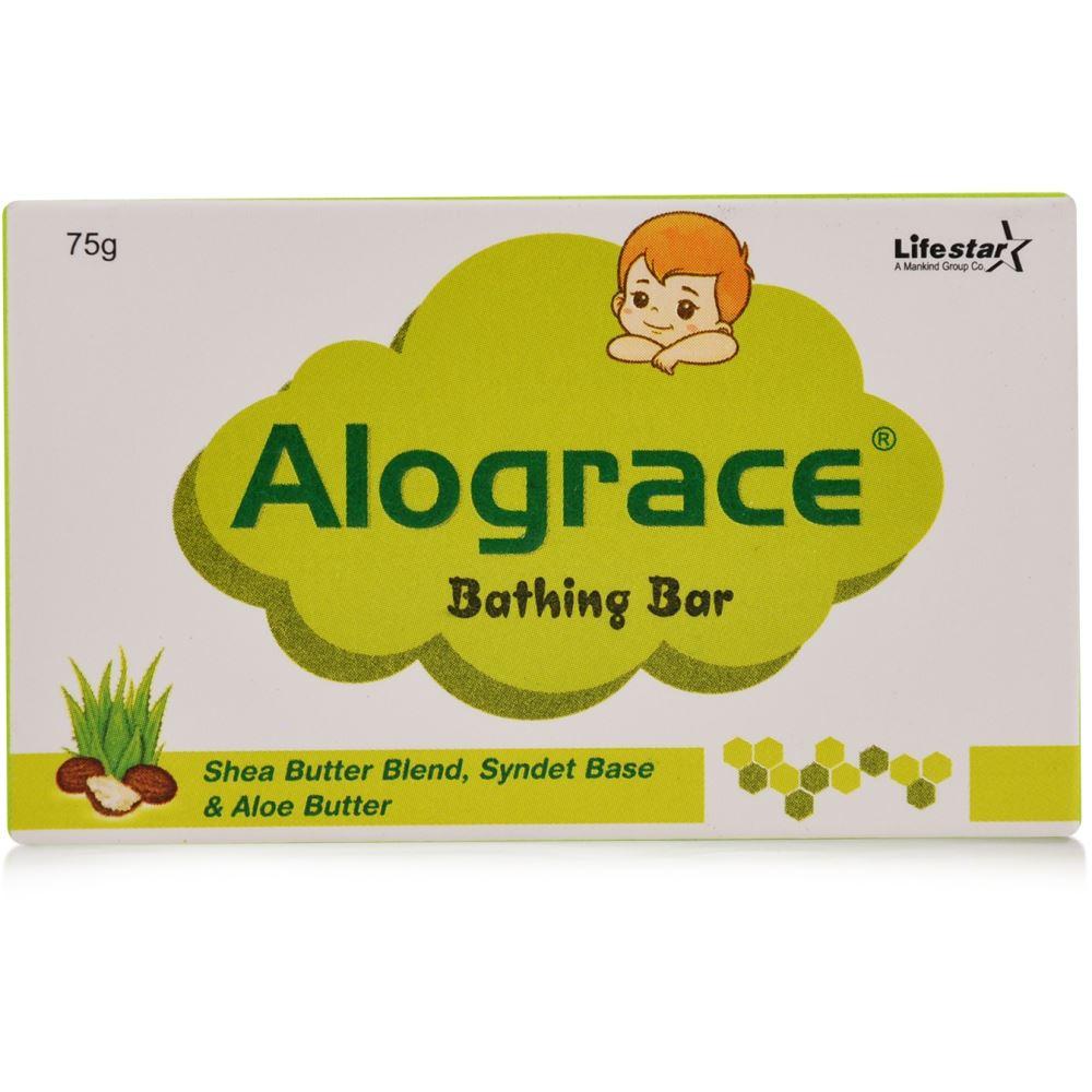 Mankind Pharma Alograce Bathing Bar (75g)