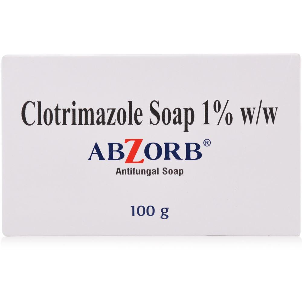 Sun Pharma Abzorb Syndet Antifungal Bar (100g)