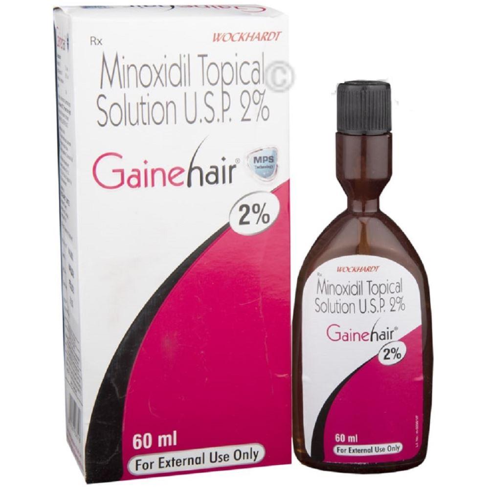 Wockhardt Ltd Gainehair Spray/Solution (2%w/v) (60ml)