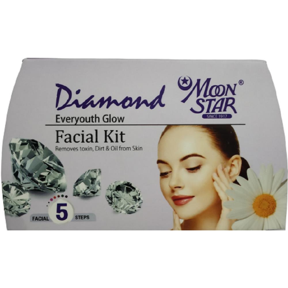 Moonstar Diamond Everyouth Facial Kit (8ml, Pack of 5)