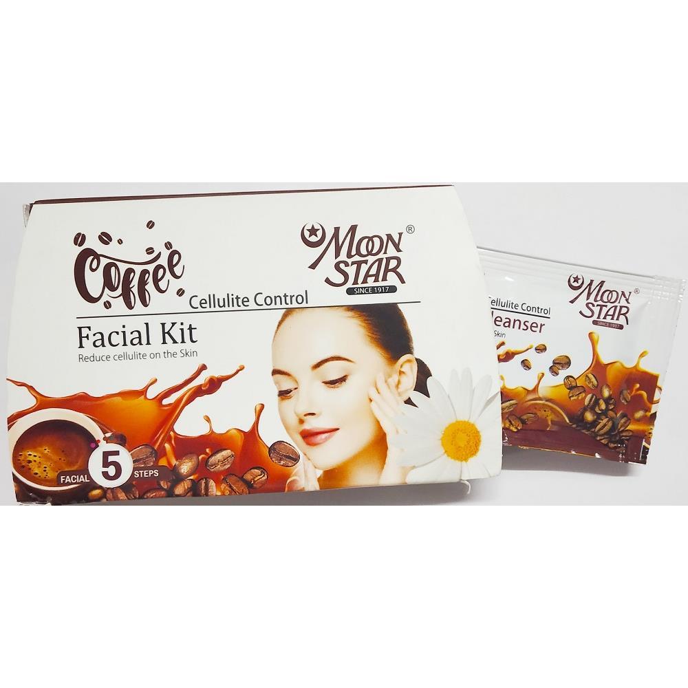 Moonstar Coffee Facial Kit (8ml, Pack of 5)