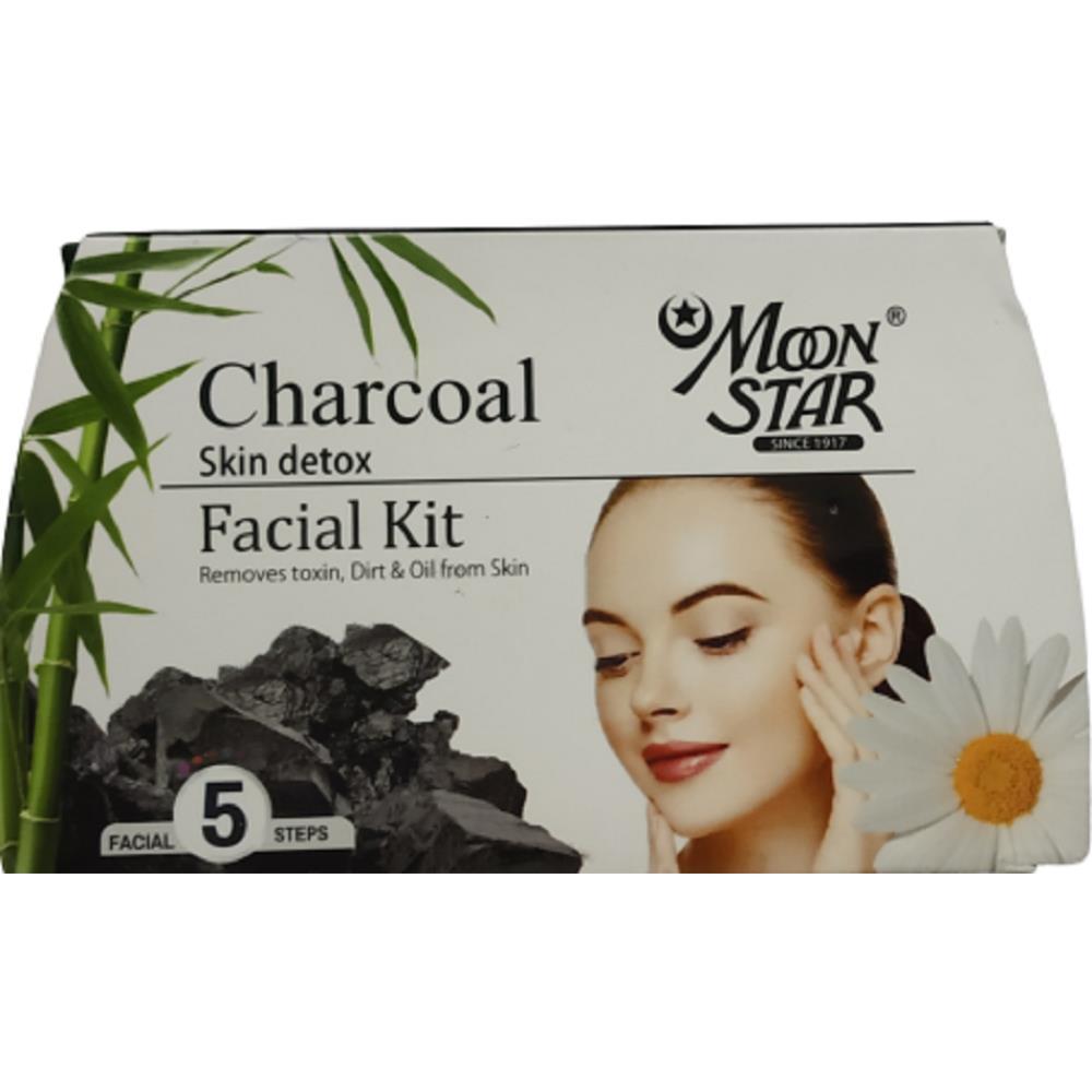 Moonstar Charcoal Skin Detox (20ml, Pack of 6)