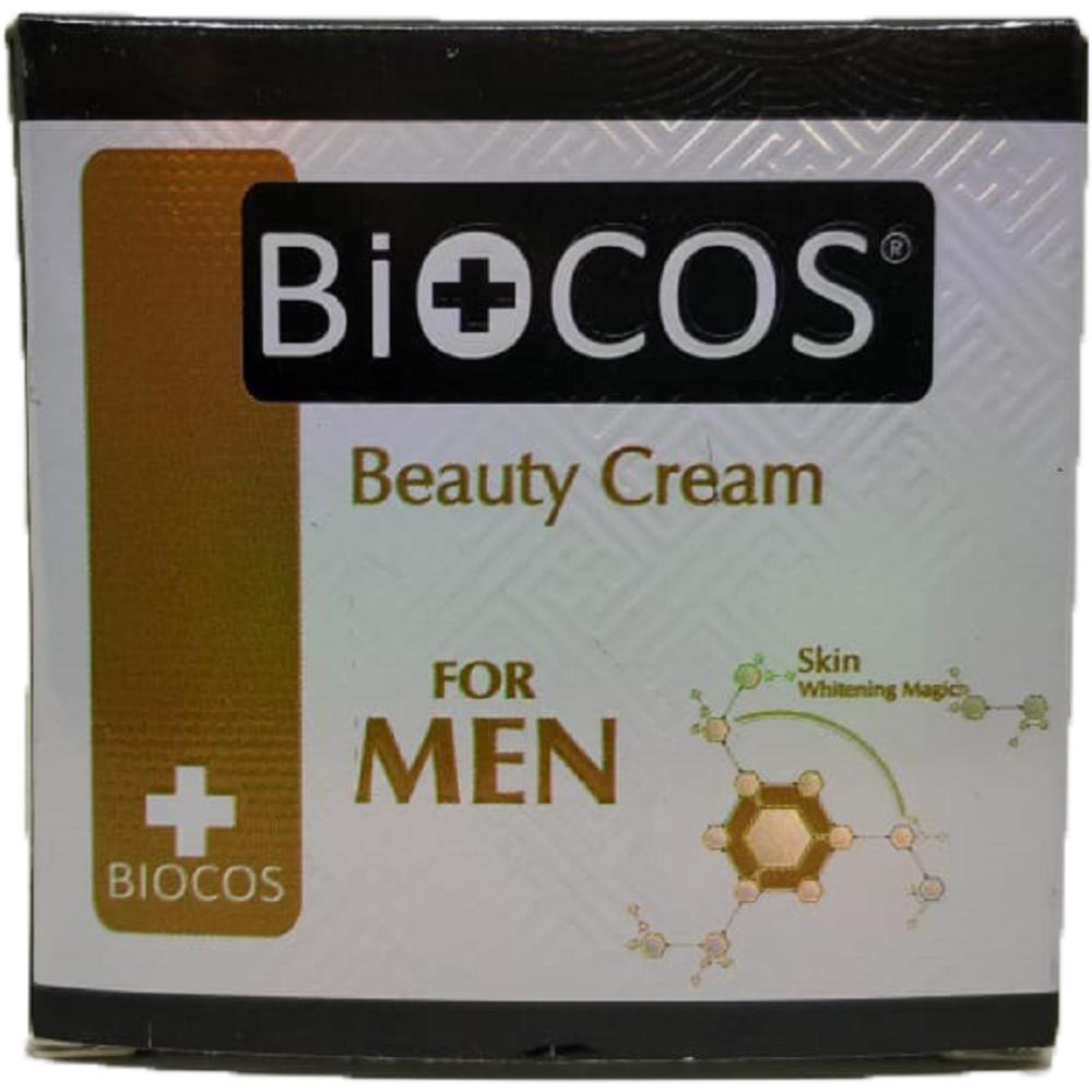 Biocos Beauty For Men With Skin Whitening Magic Night Cream (30g)
