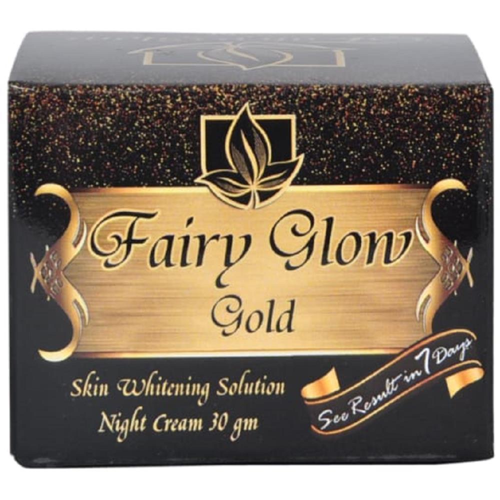 Fairy Glow Gold Skin Whitening Solution Night Cream (30g)