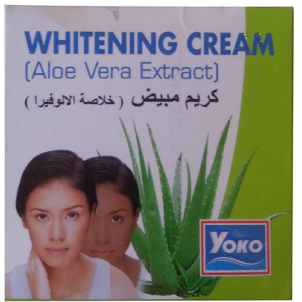Yoko Aloe Vera Extract Whitening Cream (4g)