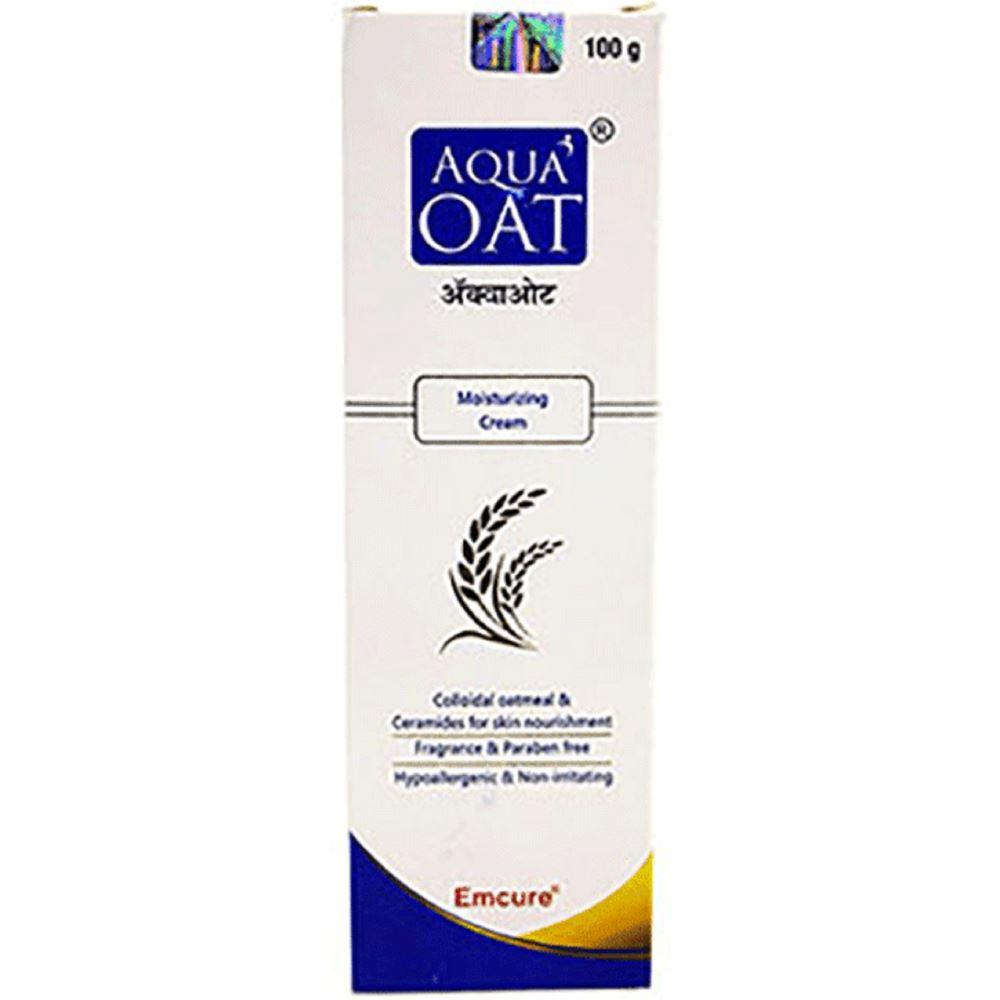 Emcure Pharma Aqua Oat Moisturizing Cream (100g)