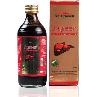 Hamdard Jigreen Syrup (200ml)