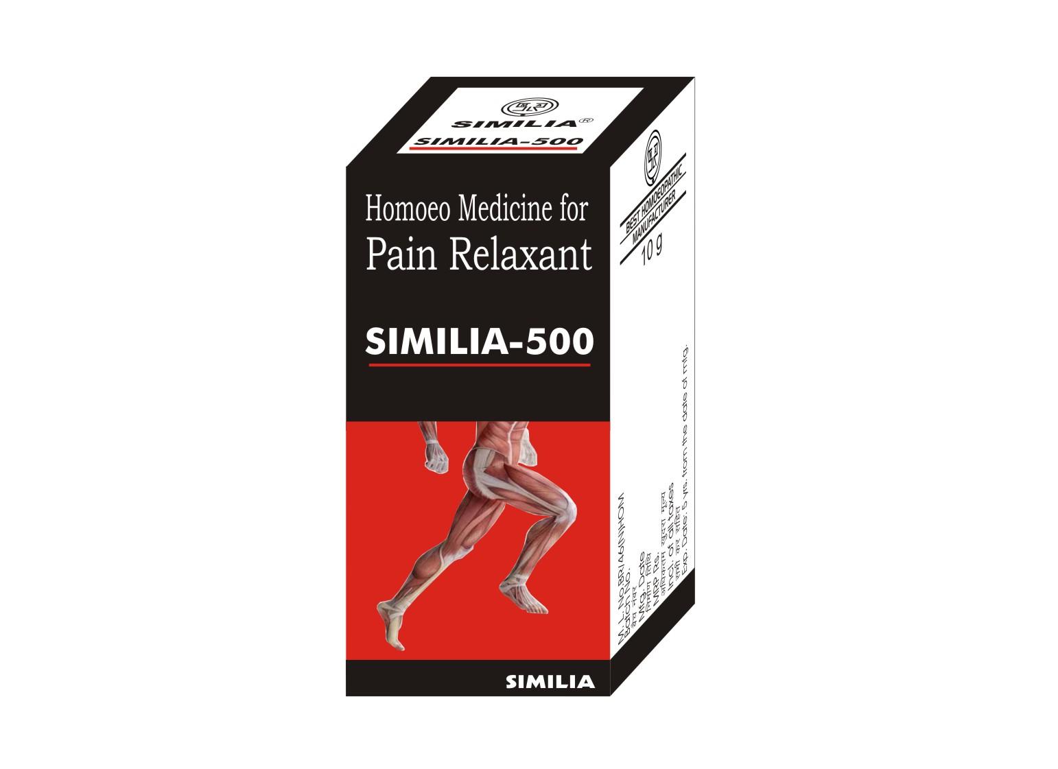 Similia - 500 (Pain Relaxant Balm) (10g)