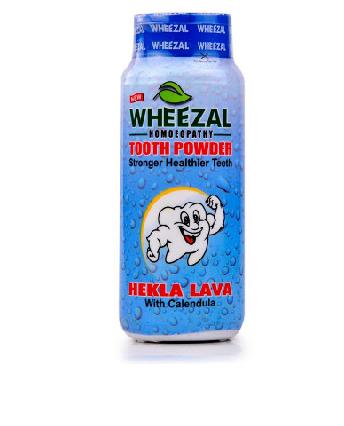Wheezal Hekla Lava Tooth Powder (100g)