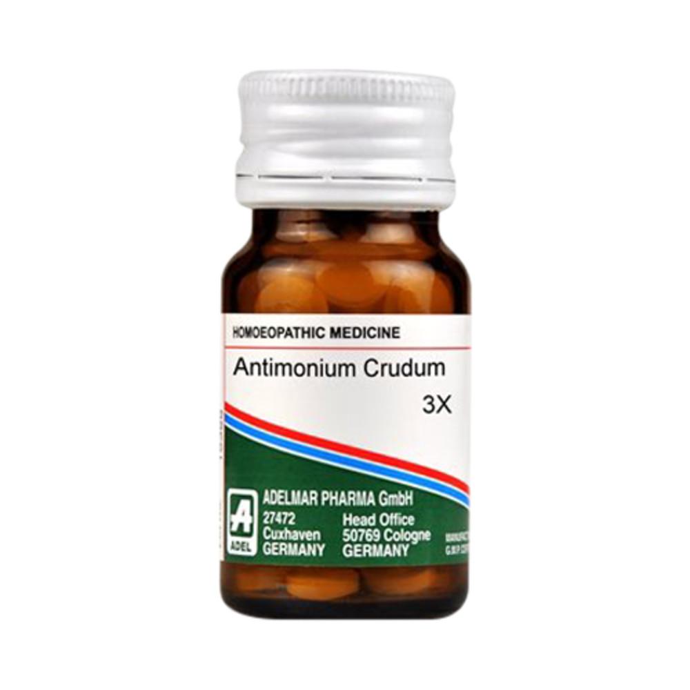 ADEL Antimonium Crudum Trituration Tablet 3X