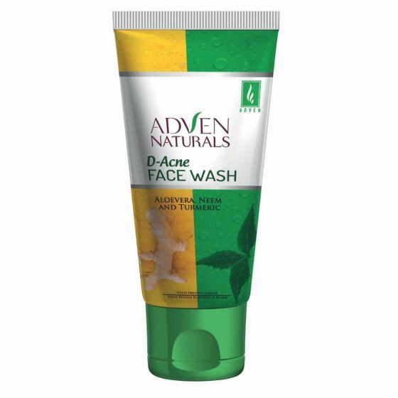 Adven Naturals D-Acne Face Wash (100 ml)