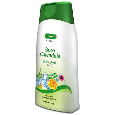 Bakson Sunny Boro Calendula Talcum Powder (100g)
