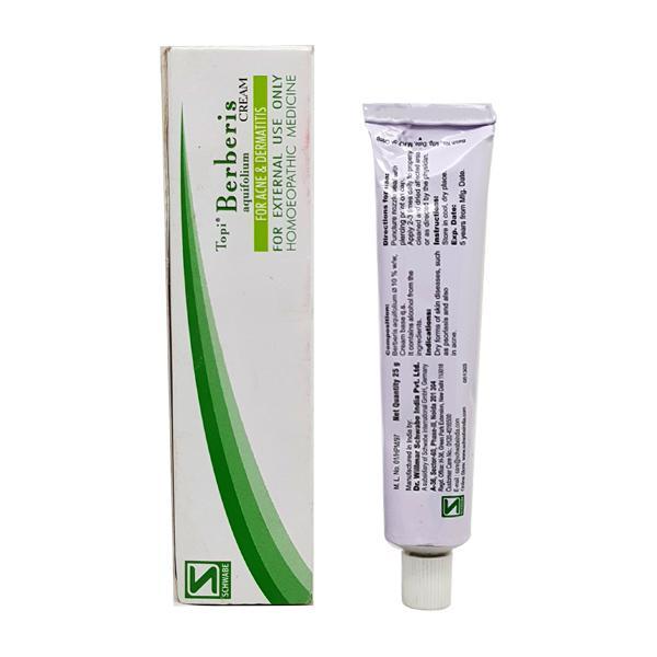 Dr. Willmar Schwabe Topi Berberis Cream 25 gm