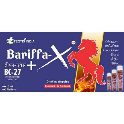 Teqtis India Bariffa-X+BC-27