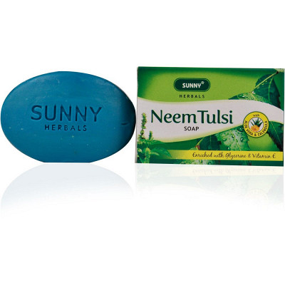 Bakson Sunny Neem Tulsi Soap (75g)