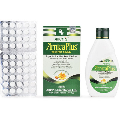 Allens Arnica Plus Triofer (Oil and Tablet) (100ml)
